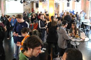 Ausstellungshalle OpenTechSummit 2015